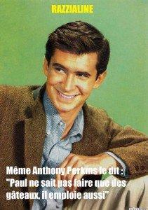 L'acteur Anthony Perkins (1932-1992)